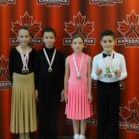 Congratulations to our Juvenile Bronze couples!