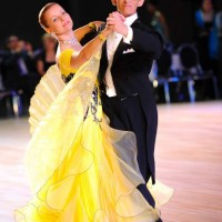 Irena and Vladimir were Bronze medalists in Senior Standard (Ballroom) Category