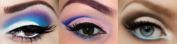Eye Makeup for Competition. Mature content on this blog.
