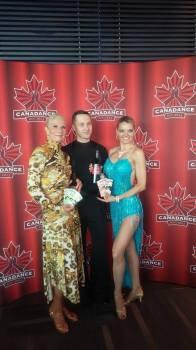 With Shellie Laird, Yuriy Shelkovyy and Zuzka Salsa